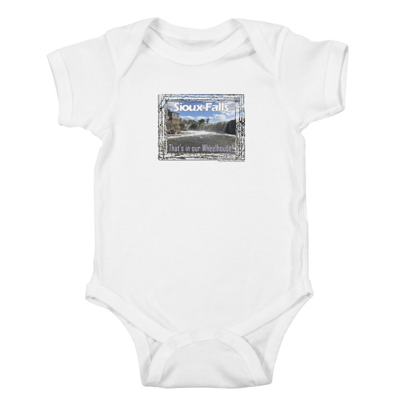 Sioux Falls - That's in our Wheelhouse! Kids Baby Bodysuit by Logo Gear & Logo Wear
