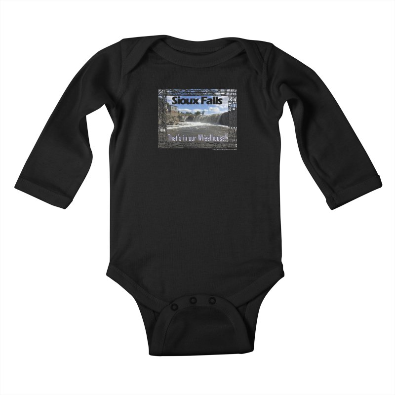 Sioux Falls - That's in our Wheelhouse! Kids Baby Longsleeve Bodysuit by Logo Gear & Logo Wear