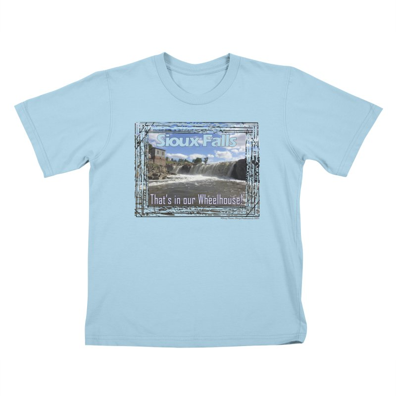 Sioux Falls - That's in our Wheelhouse! Kids T-Shirt by Logo Gear & Logo Wear