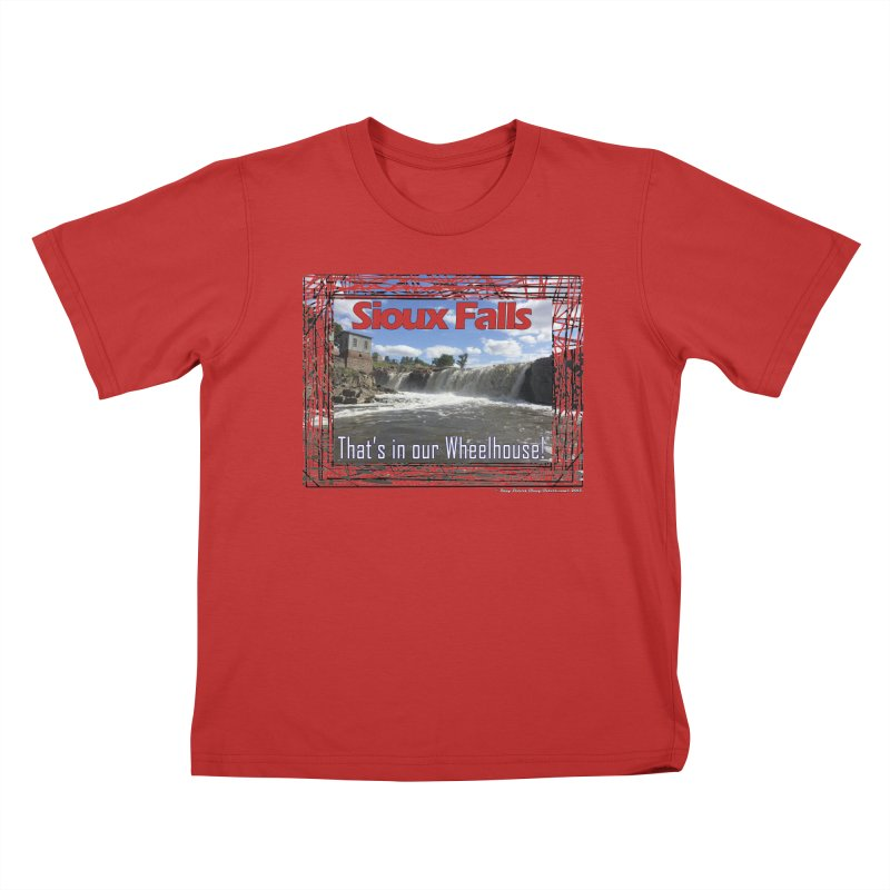Sioux Falls - That's in our Wheelhouse! Kids T-Shirt by Logo Gear & Logo Wear