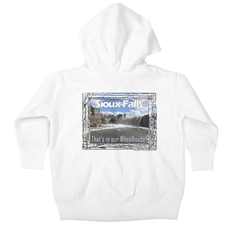 Sioux Falls - That's in our Wheelhouse! Kids Baby Zip-Up Hoody by Logo Gear & Logo Wear