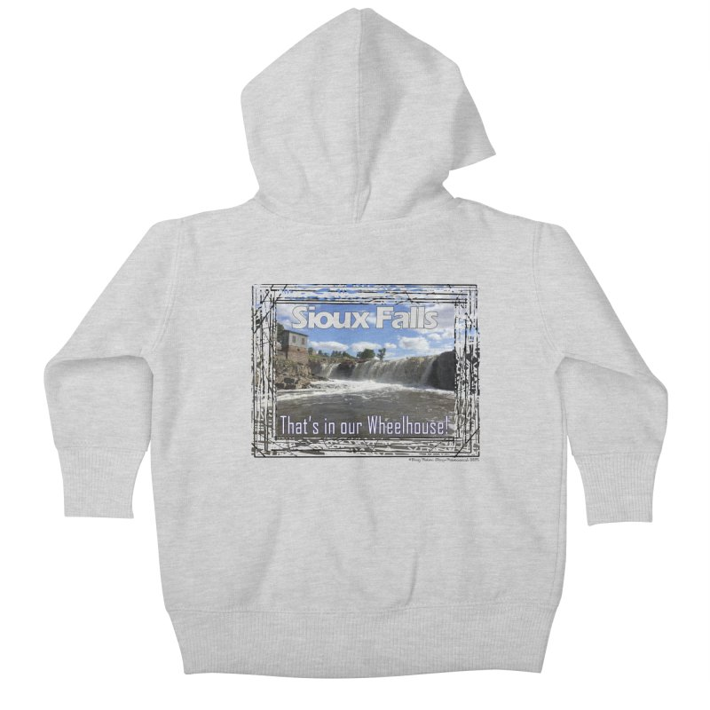 Sioux Falls - That's in our Wheelhouse! Kids Baby Zip-Up Hoody by Logo Gear & Logo Wear