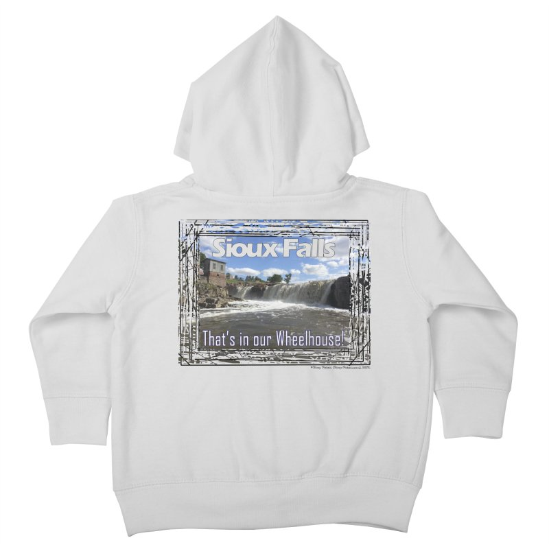 Sioux Falls - That's in our Wheelhouse! Kids Toddler Zip-Up Hoody by Logo Gear & Logo Wear