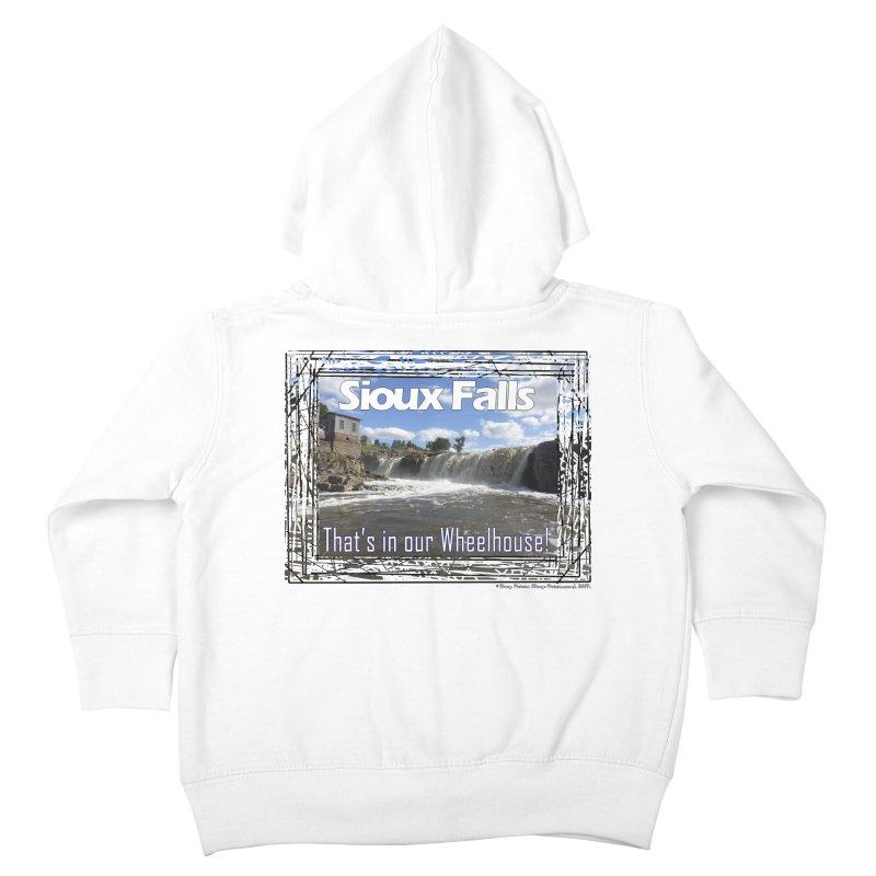 Sioux Falls - That's in our Wheelhouse! Kids Toddler Zip-Up Hoody by Logo Gear & Logo Wear