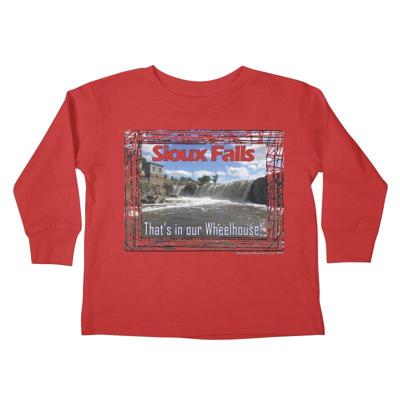 Sioux Falls - That's in our Wheelhouse! Kids Toddler Longsleeve T-Shirt by Logo Gear & Logo Wear