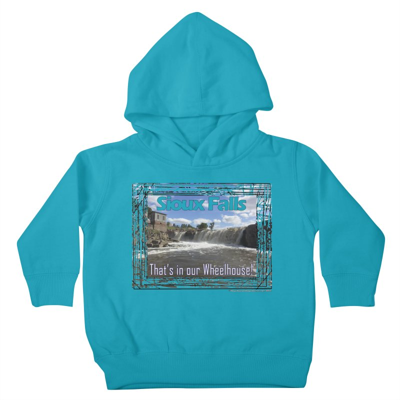 Sioux Falls - That's in our Wheelhouse! Kids Toddler Pullover Hoody by Logo Gear & Logo Wear