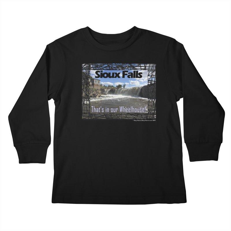 Sioux Falls - That's in our Wheelhouse! Kids Longsleeve T-Shirt by Logo Gear & Logo Wear