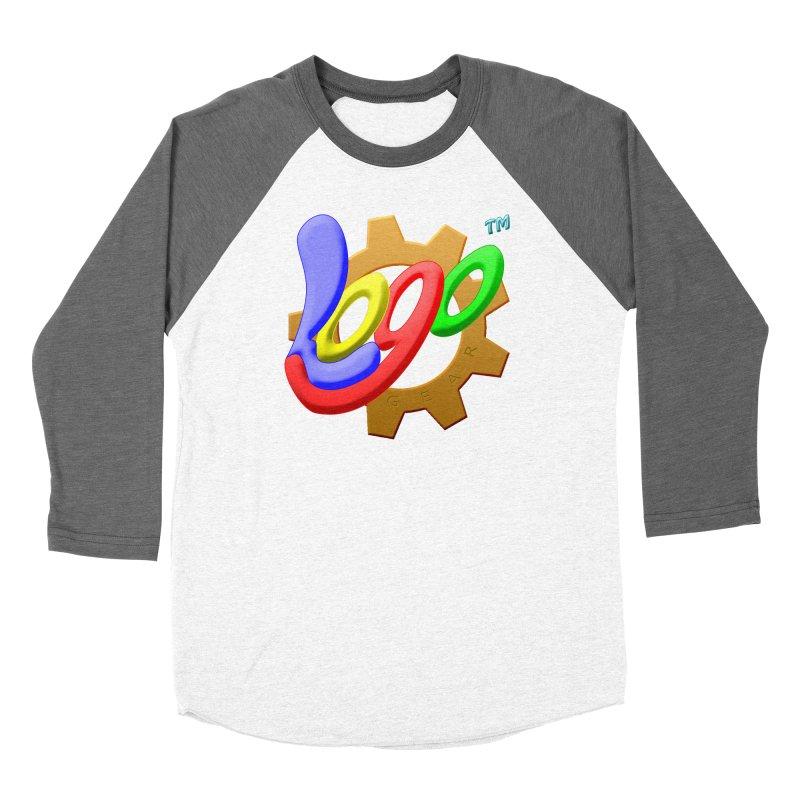 Logo Gear TM - for Your Wear & Gear Women's Baseball Triblend Longsleeve T-Shirt by Logo Gear & Logo Wear