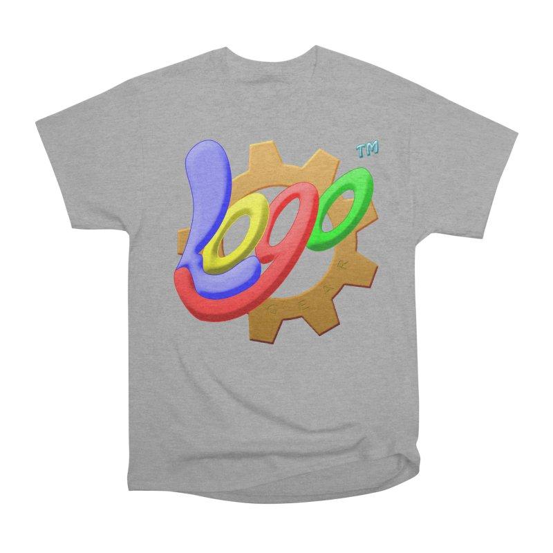 Logo Gear TM - for Your Wear & Gear Men's Heavyweight T-Shirt by Logo Gear & Logo Wear