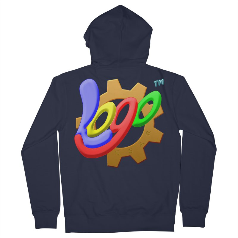 Logo Gear TM - for Your Wear & Gear Men's French Terry Zip-Up Hoody by Logo Gear & Logo Wear
