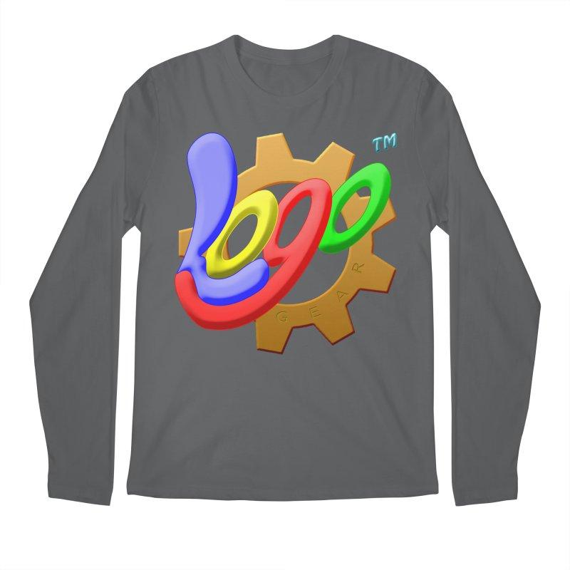 Logo Gear TM - for Your Wear & Gear Men's Regular Longsleeve T-Shirt by Logo Gear & Logo Wear