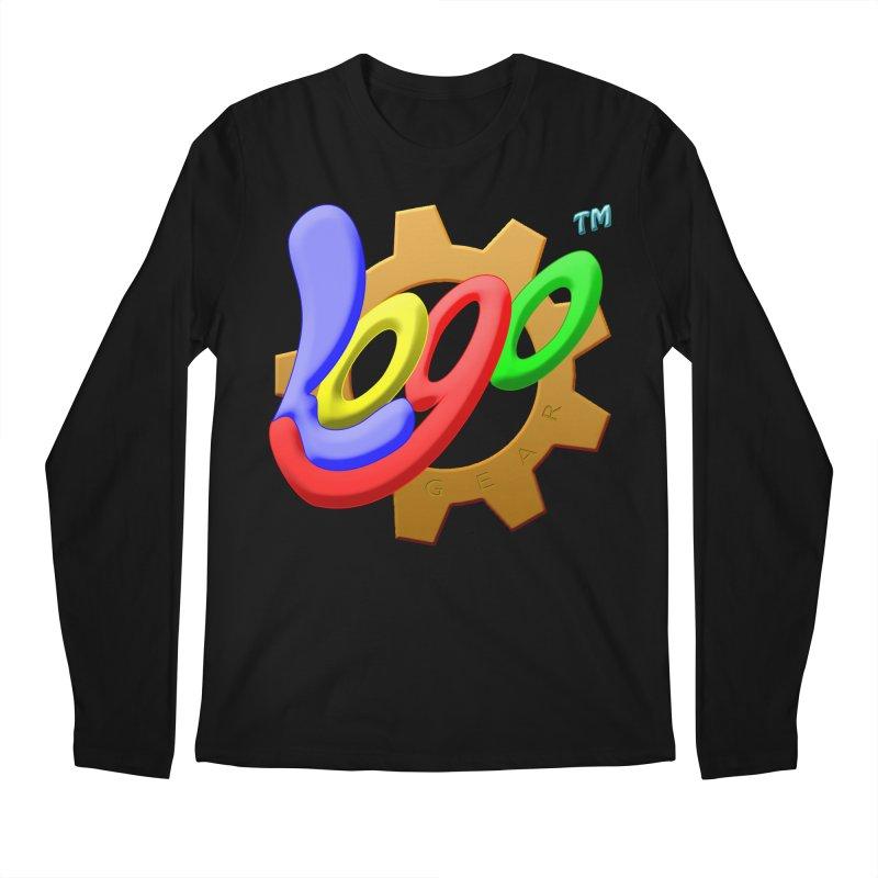 Logo Gear TM - for Your Wear & Gear Men's Longsleeve T-Shirt by Logo Gear & Logo Wear