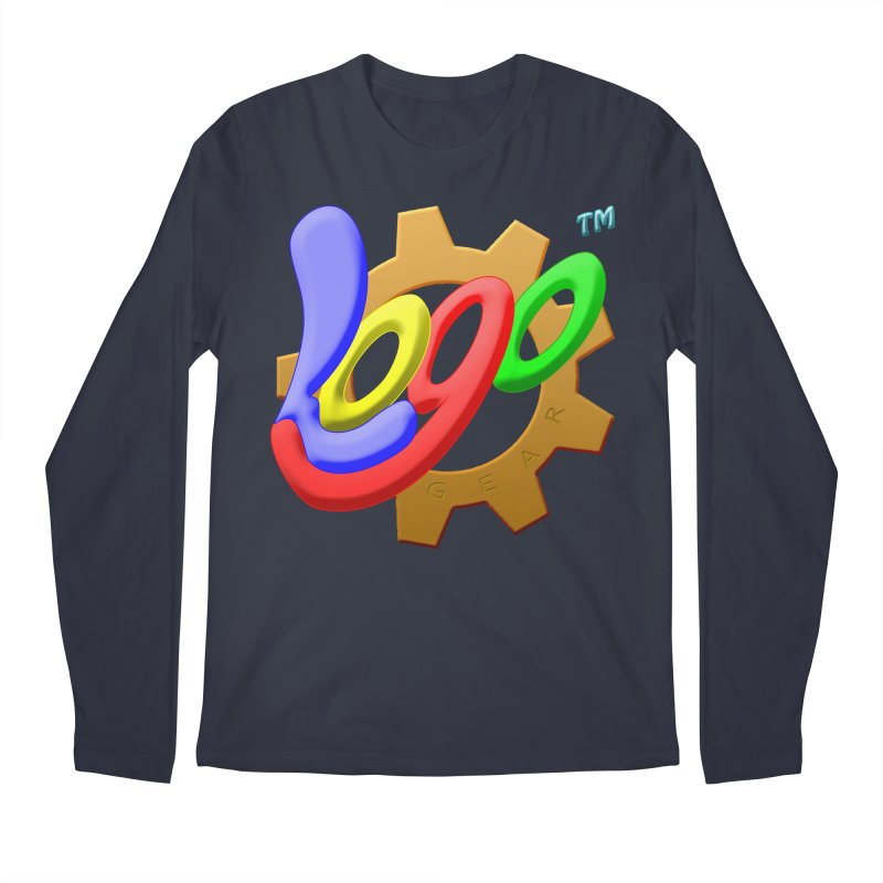 Logo Gear TM - for Your Wear & Gear Men's Regular Longsleeve T-Shirt by Logo Gear & Logo Wear