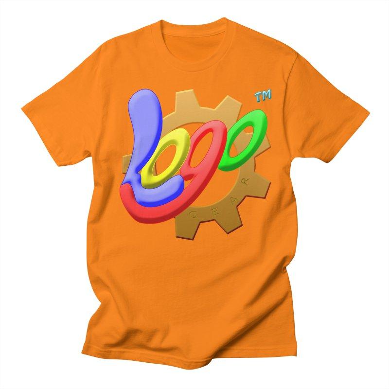 Logo Gear TM - for Your Wear & Gear Men's Regular T-Shirt by Logo Gear & Logo Wear