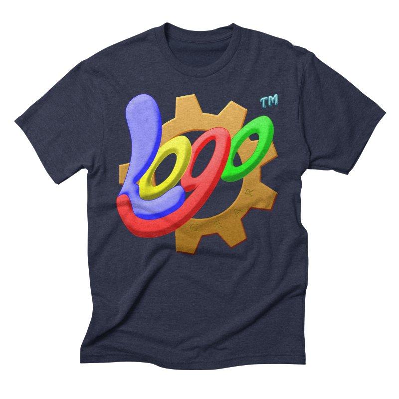 Logo Gear TM - for Your Wear & Gear Men's Triblend T-Shirt by Logo Gear & Logo Wear