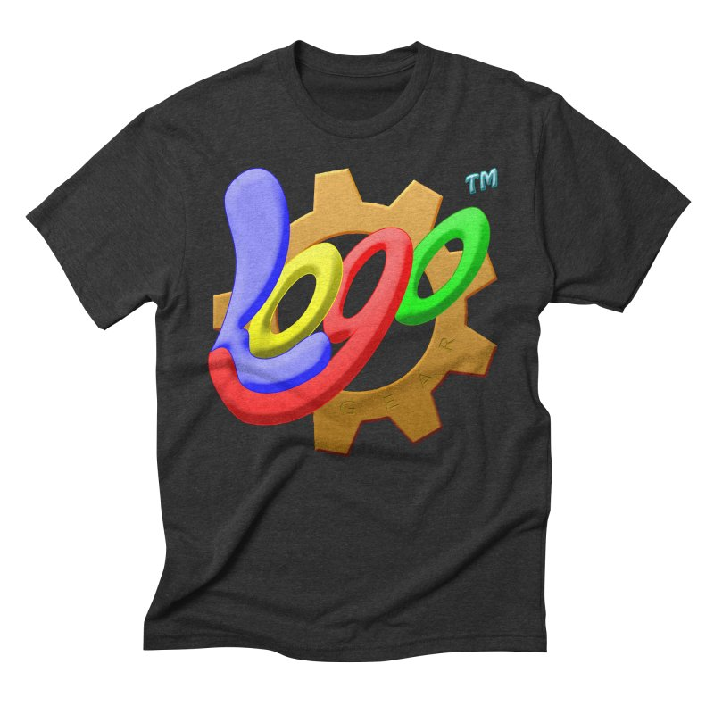 Logo Gear TM - for Your Wear & Gear Men's Triblend T-Shirt by Logo Gear & Logo Wear