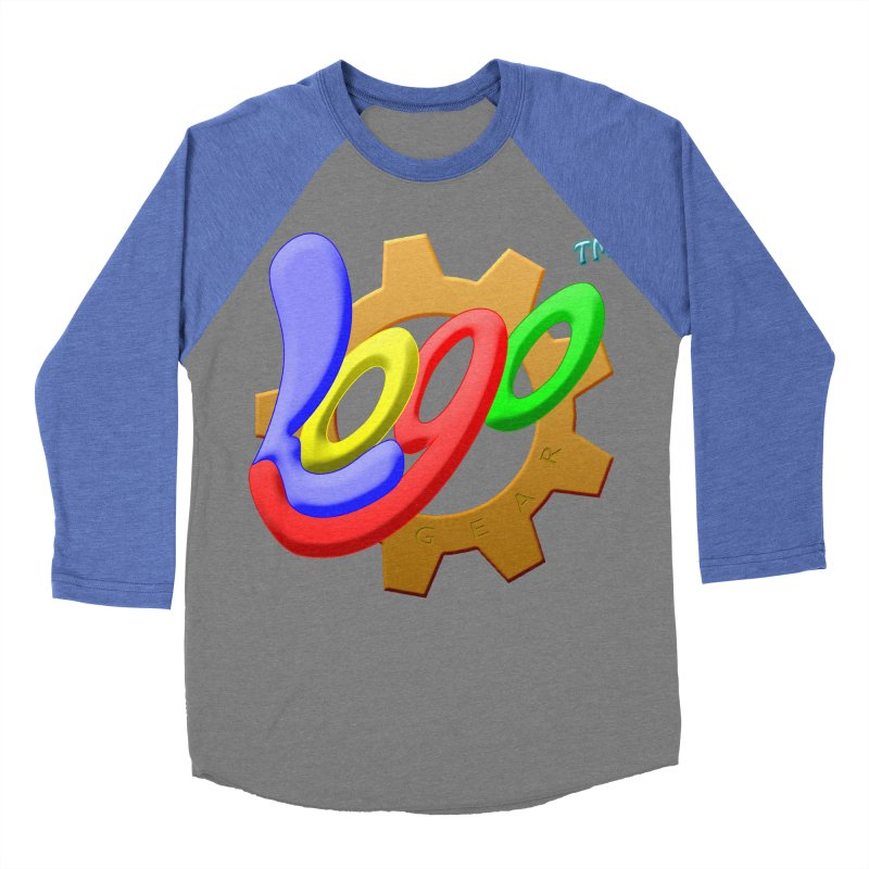 Logo Gear TM - for Your Wear & Gear Men's Baseball Triblend Longsleeve T-Shirt by Logo Gear & Logo Wear