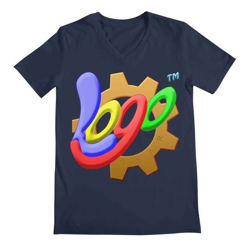 Logo Gear TM - for Your Wear & Gear Men's Regular V-Neck by Logo Gear & Logo Wear