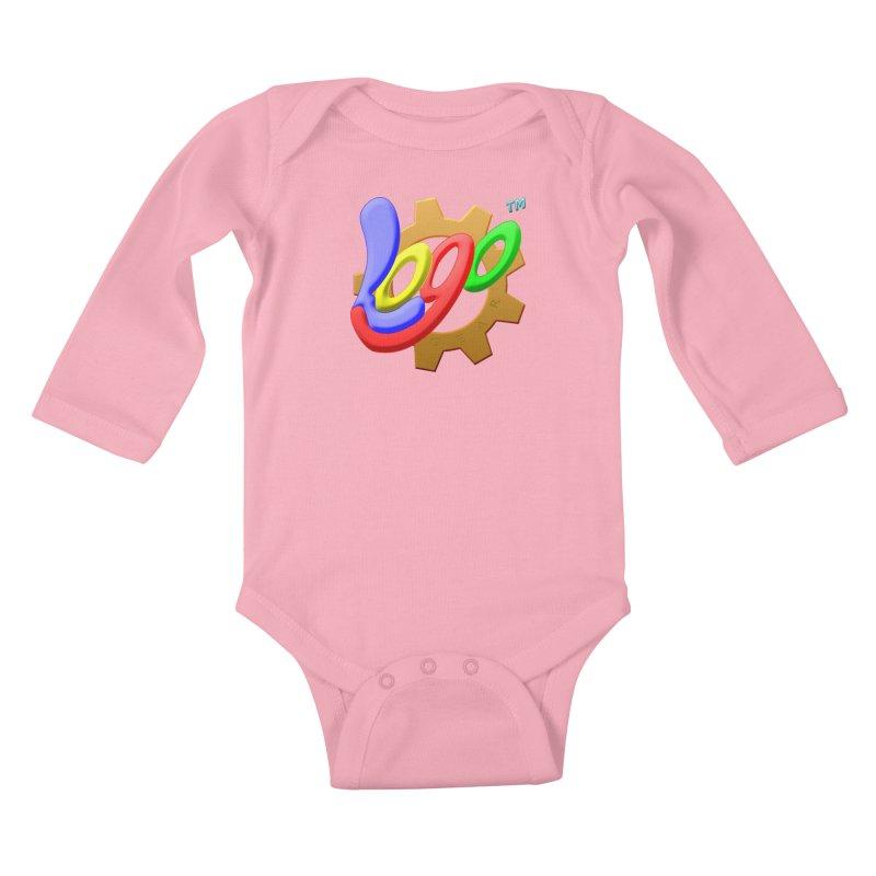 Logo Gear TM - for Your Wear & Gear Kids Baby Longsleeve Bodysuit by Logo Gear & Logo Wear