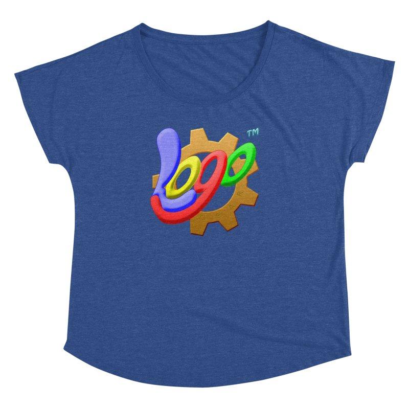 Logo Gear TM - for Your Wear & Gear Women's Dolman Scoop Neck by Logo Gear & Logo Wear