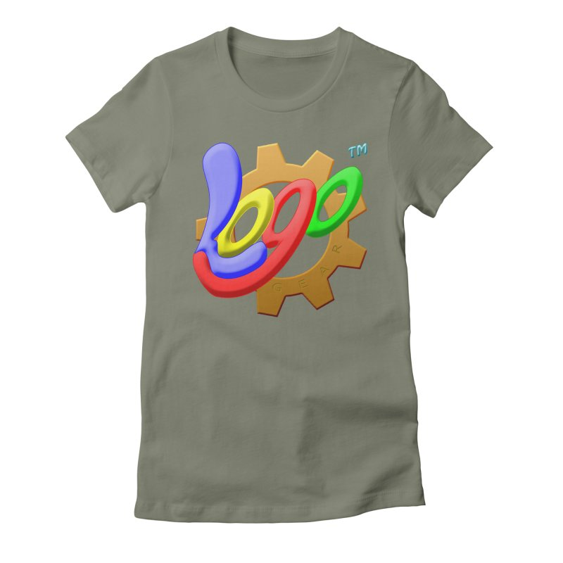 Logo Gear TM - for Your Wear & Gear Women's Fitted T-Shirt by Logo Gear & Logo Wear