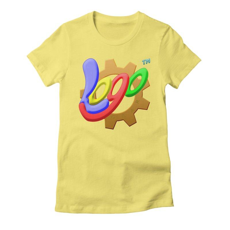 Logo Gear TM - for Your Wear & Gear Women's Fitted T-Shirt by Logo Gear & Logo Wear
