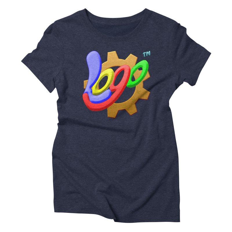Logo Gear TM - for Your Wear & Gear Women's Triblend T-Shirt by Logo Gear & Logo Wear