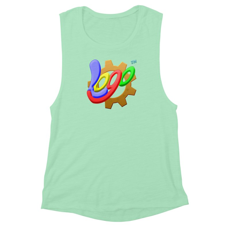Logo Gear TM - for Your Wear & Gear Women's Muscle Tank by Logo Gear & Logo Wear