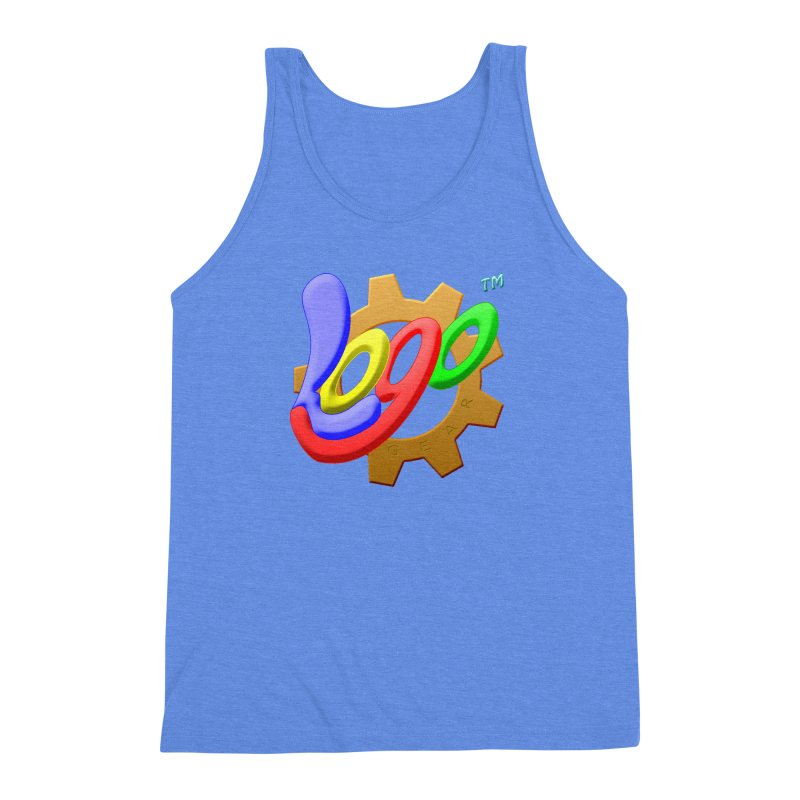 Logo Gear TM - for Your Wear & Gear Men's Triblend Tank by Logo Gear & Logo Wear