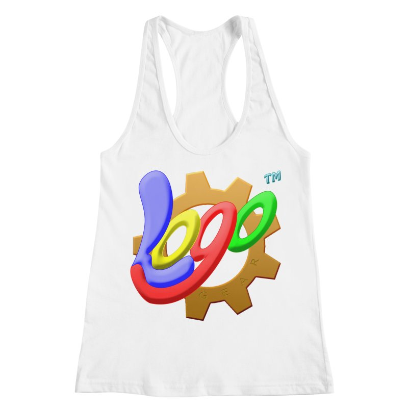 Logo Gear TM - for Your Wear & Gear Women's Racerback Tank by Logo Gear & Logo Wear
