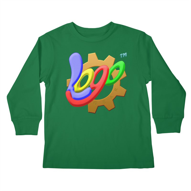 Logo Gear TM - for Your Wear & Gear Kids Longsleeve T-Shirt by Logo Gear & Logo Wear