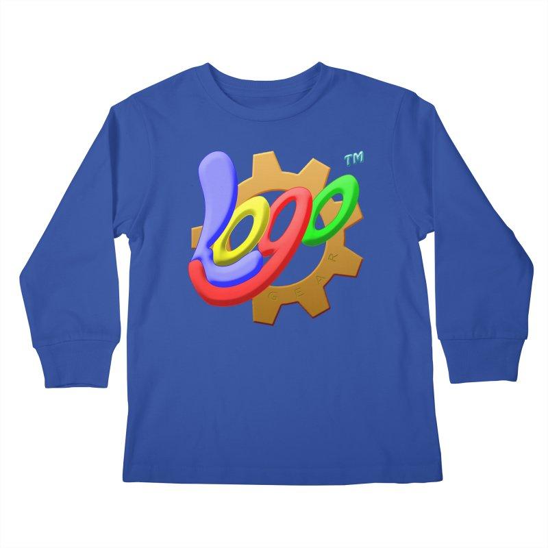 Logo Gear TM - for Your Wear & Gear Kids Longsleeve T-Shirt by Logo Gear & Logo Wear