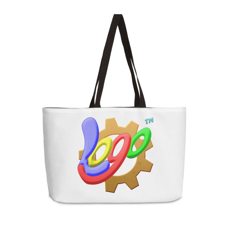 Logo Gear TM - for Your Wear & Gear Accessories Weekender Bag Bag by Logo Gear & Logo Wear