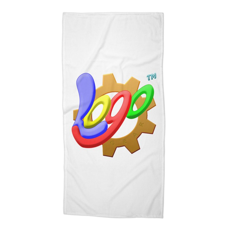 Logo Gear TM - for Your Wear & Gear Accessories Beach Towel by Logo Gear & Logo Wear