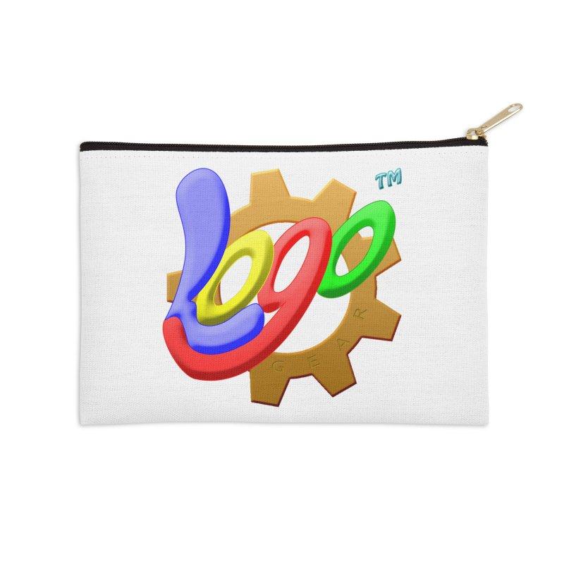 Logo Gear TM - for Your Wear & Gear Accessories Zip Pouch by Logo Gear & Logo Wear