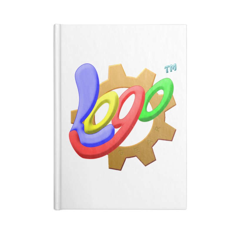 Logo Gear TM - for Your Wear & Gear Accessories Lined Journal Notebook by Logo Gear & Logo Wear