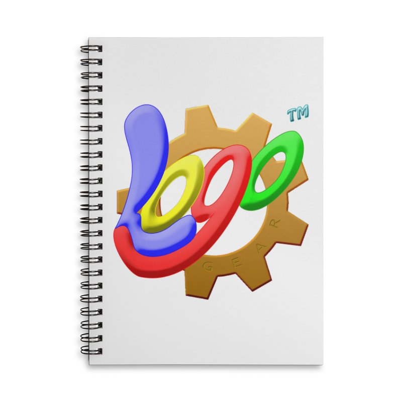 Logo Gear TM - for Your Wear & Gear Accessories Lined Spiral Notebook by Logo Gear & Logo Wear