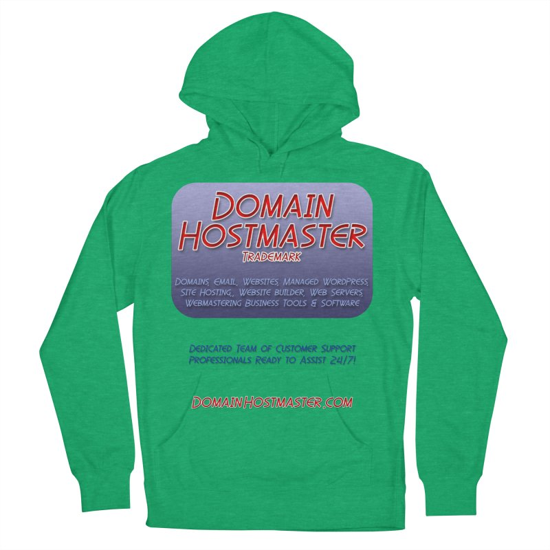 Domain Hostmaster Men's French Terry Pullover Hoody by Logo Gear & Logo Wear