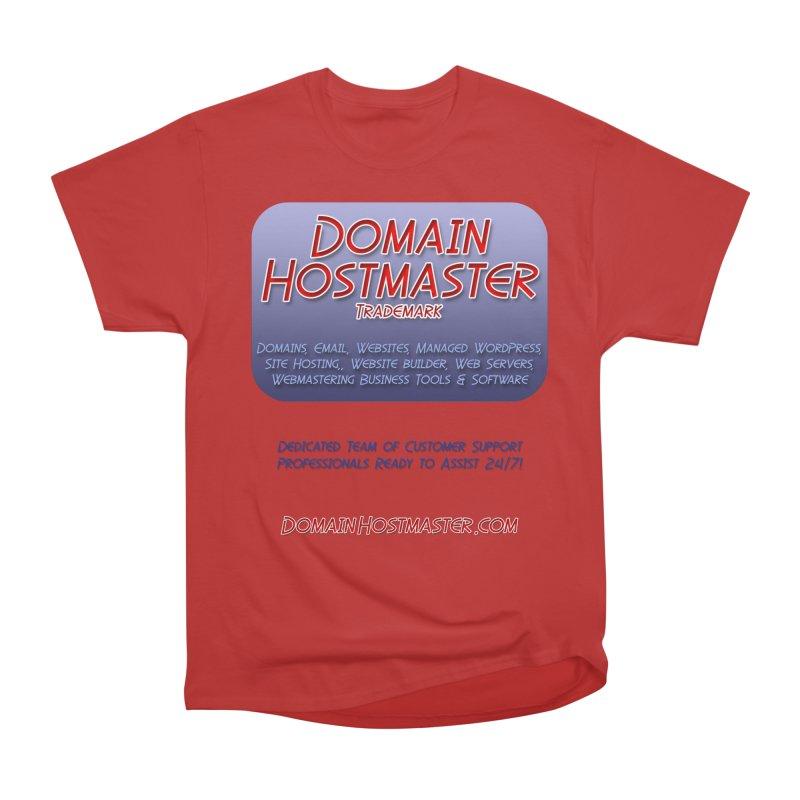 Domain Hostmaster Women's Heavyweight Unisex T-Shirt by Logo Gear & Logo Wear