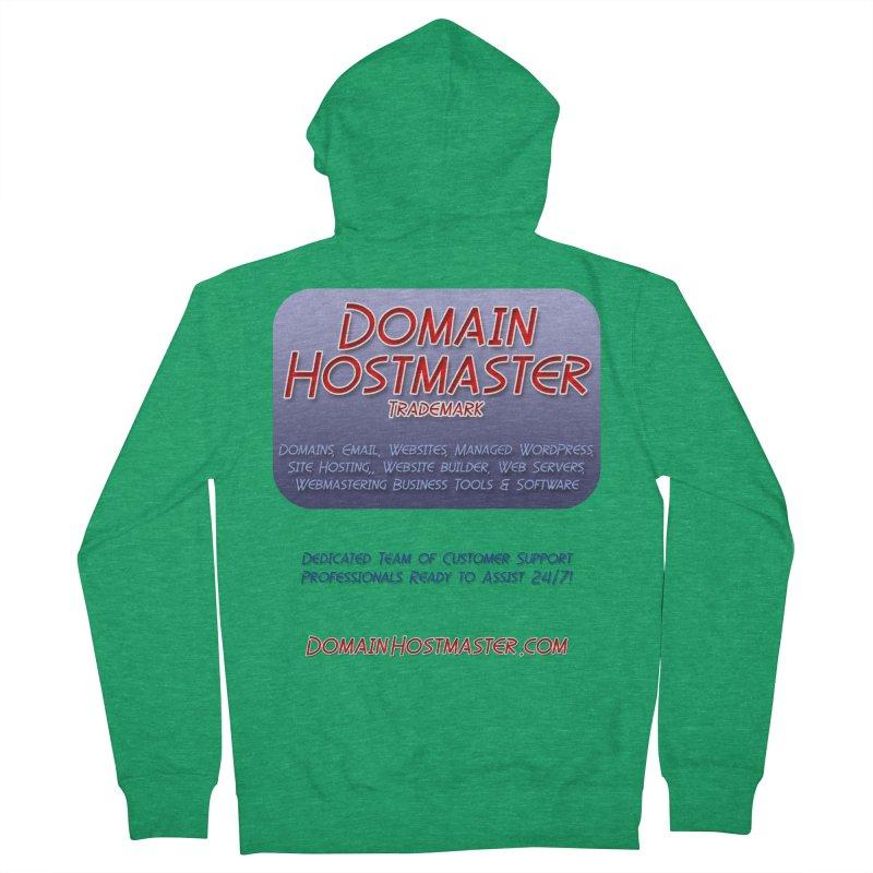 Domain Hostmaster Women's French Terry Zip-Up Hoody by Logo Gear & Logo Wear