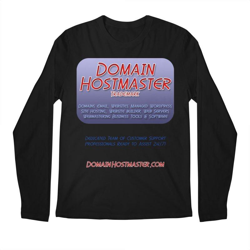 Domain Hostmaster Men's Regular Longsleeve T-Shirt by Logo Gear & Logo Wear