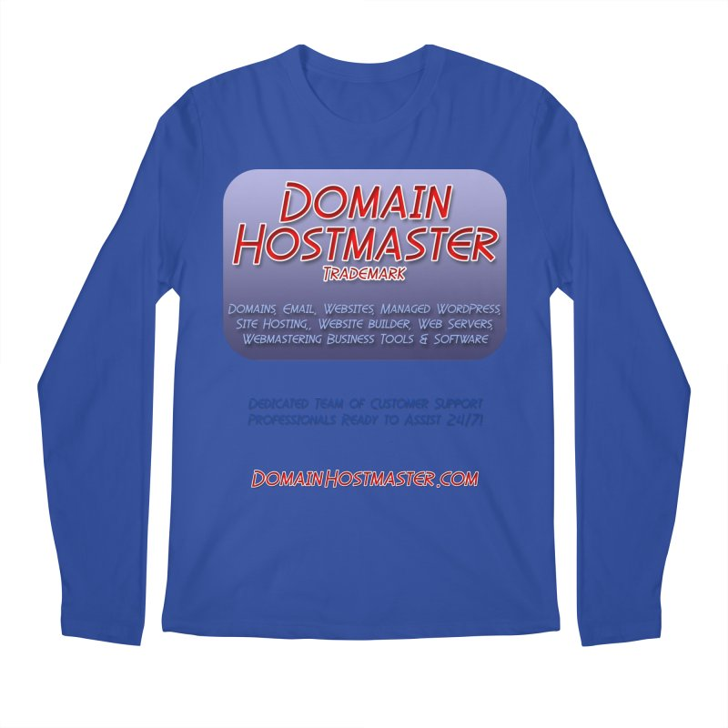 Domain Hostmaster Men's Regular Longsleeve T-Shirt by Logo Gear & Logo Wear