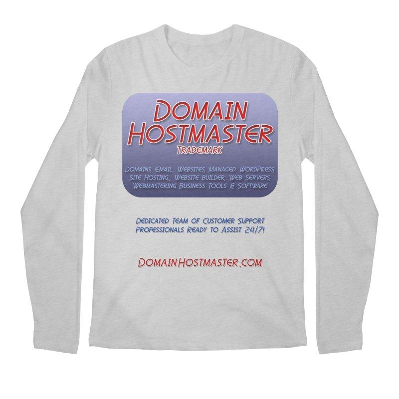 Domain Hostmaster Men's Longsleeve T-Shirt by Logo Gear & Logo Wear
