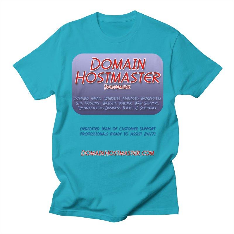 Domain Hostmaster Men's Regular T-Shirt by Logo Gear & Logo Wear
