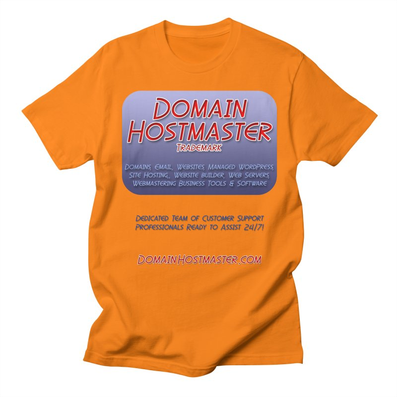Domain Hostmaster Women's Regular Unisex T-Shirt by Logo Gear & Logo Wear
