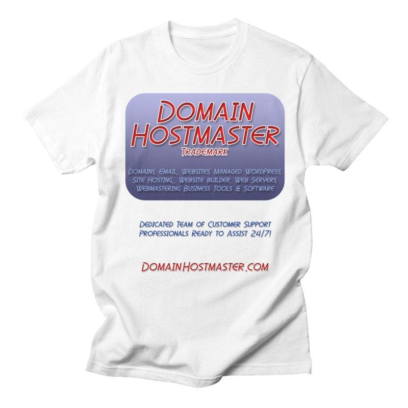 Domain Hostmaster Women's Unisex T-Shirt by Logo Gear & Logo Wear