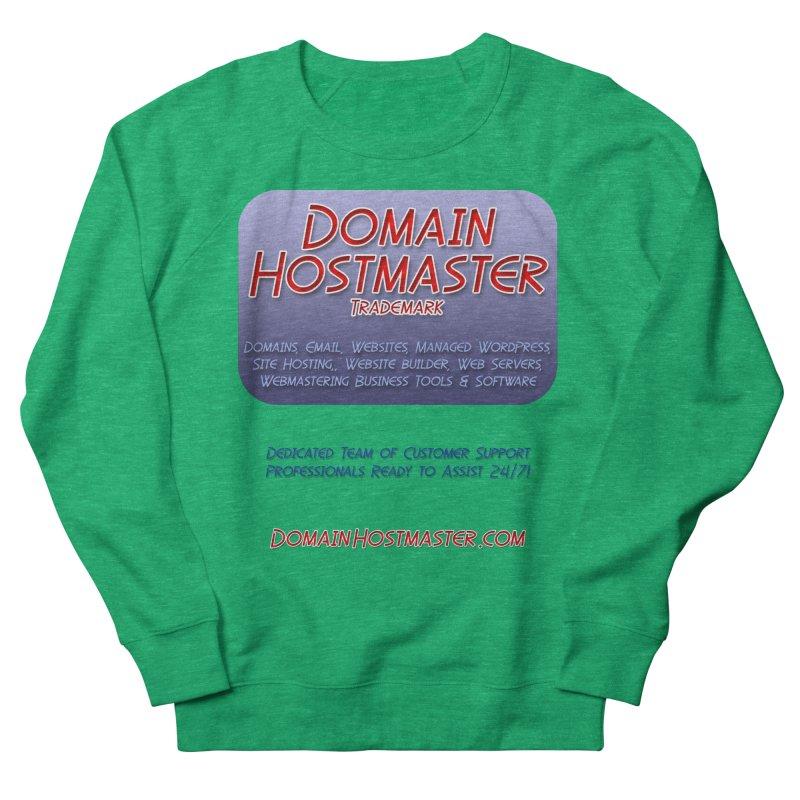 Domain Hostmaster Men's French Terry Sweatshirt by Logo Gear & Logo Wear