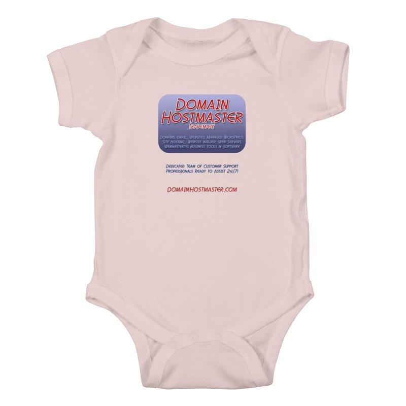Domain Hostmaster Kids Baby Bodysuit by Logo Gear & Logo Wear
