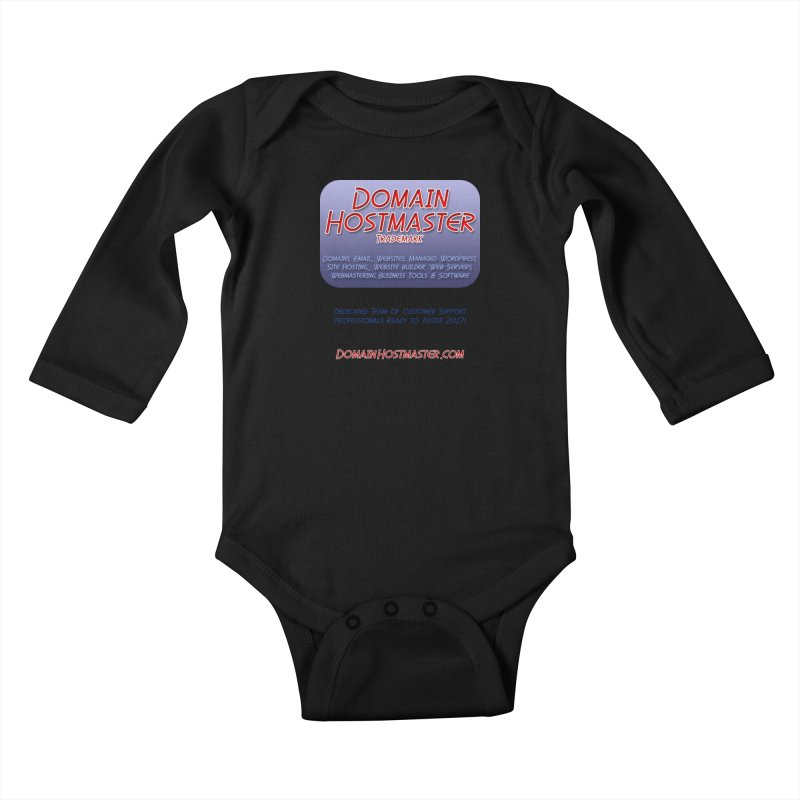 Domain Hostmaster Kids Baby Longsleeve Bodysuit by Logo Gear & Logo Wear