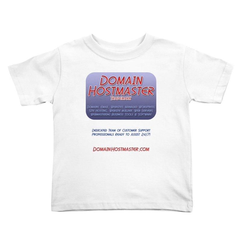 Domain Hostmaster Kids Toddler T-Shirt by Logo Gear & Logo Wear